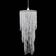 vidaXL Кристален полилей, 26 х 70 см