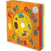First Songs Library by Roger Priddy