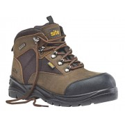 Site Onyx Boot S3, braun Gr.43