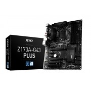MSI Z170A-G43 Plus Scheda Madre Intel 1151, Nero