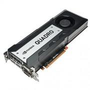 PNY NVIDIA QUADRO K6000 Carte Graphique Professionnelle 12 Go GDDR5 PCI-Express 2 x DP + 2 x DVI + Stereo (VCQK6000-PB)
