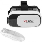IBS Newest 3D Vr Box With Bluetooth Controller Virtual Reality Headset Version 2.0 . 3D Glasses Adjust Cardboard Vr B