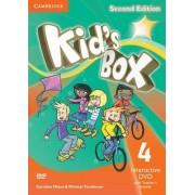 Kid's Box Level 4 Interactive DVD (NTSC) with Teacher's Booklet by Caroline Nixon