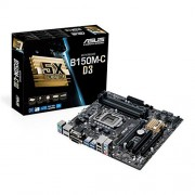 Asus B150M C D3-Scheda madre Intel B150, S 1151, DDR3, DDR3L, SATA3 6GBps)