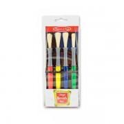 Set 4 pensule groase