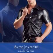 Svenjoyment Uniform Press Studs Short Sleeved Shirt 2160455