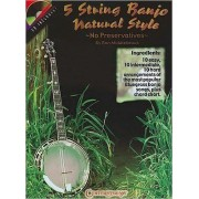 5 String Banjo Natural Style by Ron Middlebrook