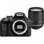 Nikon Fotocamera Digitale Reflex Nikon D3400 Kit + 18-105mm Nikon VR