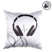 Music Pillow Squared - Cuscino Musicale design Cuffie
