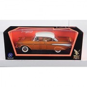 1957 Chevrolet Bel Air Hardtop Bronze 1/18 by Road Signature 92109