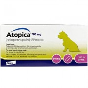 Atopica For Dogs 50 mg 30 Capsule Pk by NOVARTIS