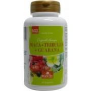 Maca + Tribulus + Guarana - 600 mg - 90 gélules