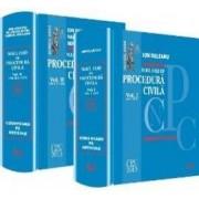 Noul Ccod de procedura civila Vol. 1+2. Comentarii pe articole - Ion Deleanu