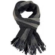 Gorm Black pánská zimní šála černá