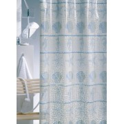 Sealskin Elba niebieska zasłona prysznicowa PCV 180x200cm 210511324
