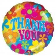 """Balon folie 45 cm """"Thank You"""", Amscan 07068"""