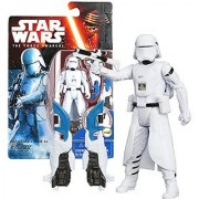 Hasbro Year 2015 Star Wars The Force Awakens Series 4 Inch Tall Action Figure - First Order SNOWTROOPER with Blaster Rifle Plus Build A Weapon Part #2