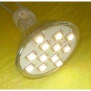 Spot cu 12x5050-SC, alb cald, MR16, 12V