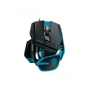 Mad Catz R.A.T.TE Tournament Edition Gaming Mouse For PC And Mac [Black, Blue]
