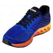 asics fuzeX Shoe Men asics blue/indigo blue/hot orange 44 Running