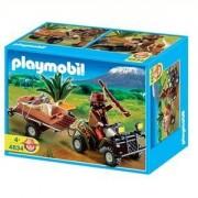 Playmobil 4834 - Quad Safari Et Braconnier