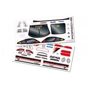 LRP elettronico 122.034 - Dekorbogen S10 Blast TC - Porsche 911 GT3 Carrera World Cup Edition Inferno, verde