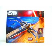 STAR WARS THE FORCE AWAKENS RESISTANCE X-WING FIGHTER BLUE VERSION POE DAMERON