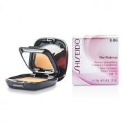 The Makeup Perfect Smoothing Compact Foundation SPF 15 (Case + Refill) - B80 Deep Beige 10g/0.35oz The Makeup Перфектен Изăлаждащ Компактен Фон дьо Тен със SPF 15 ( Кутийка + Пълнител ) - В80 Тъмно Бежов