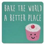 tinnen magneet - bake the world a better place