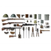 ICM Models WWI French Infantry Weapons/Equipment Model Kit