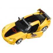 2005 Daytona 500 Yellow & Black C6 Corvette Coupe 1:24 Diecast