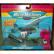 World Famous Aircraft Micro Machines #7 Collection