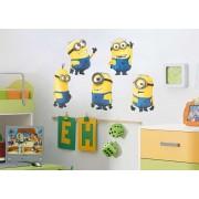 Stickere perete copii 5D Minions