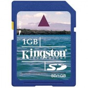 Kingston 1 GB SD Card SD/1GBKR