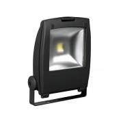 Professioneller LED-Fluter für den Außenbereich - 50 W Epistar Chip - 3800 K - Schwarz