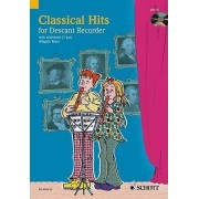 Classical Hits for 1-2 Descant Recorders by Hal Leonard Corp