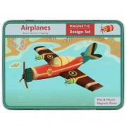 Mudpuppy magnetic figures airplanes