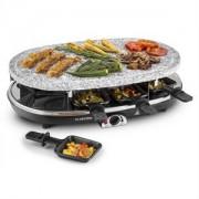 Klarstein Steaklette, 1500W, raclette sütő gránitlappal, 8 személyes (GQ6-Steaklette)