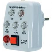 Testboy Testavit Schuki 1 konnektorvizsgáló (100858)
