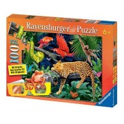 Wild Jungle 100 Piece Cromadepth Puzzle With 3D Glasses by Ravensburger