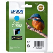 EPSON Cyan Inkjet Cartridge T1592 for Stylus Photo R2000 (C13T15924010)