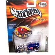 Hot Wheels Racing - 2001 - Way 2 Fast - Mobil 1s #12 (Blue color) - Race Car Replica