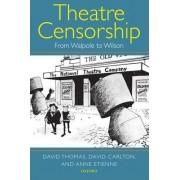 Theatre Censorship by David Thomas