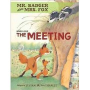 Mr Badger and Mrs Fox Book 1: The Meeting by Brigitte Luciani