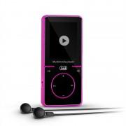 TREVI MPV 1738PI мини мултимедиен плеър FM MP3 вкл. батерия 4 GB микроSD розов (#0173807)