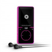 Trevi MPV 1738PI Mini Multimedia Player FM baterie MP3 incl. 4GB microSD roz