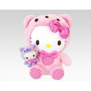 Hello Kitty 8 Bear Plush with Finger Puppet: Holiday