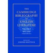 The Cambridge Bibliography of English Literature: Volume 4, 1800-1900: 1800-1900 v. 4 by F. W. Bateson