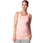 Camiseta premama tirantes larga rosa Hannah