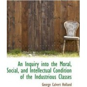 An Inquiry Into the Moral, Social, and Intellectual Condition of the Industrious Classes by George Calvert Holland